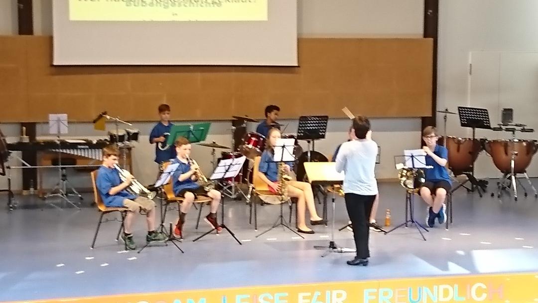 Das Schülerorchester des Musikverein Eisingen