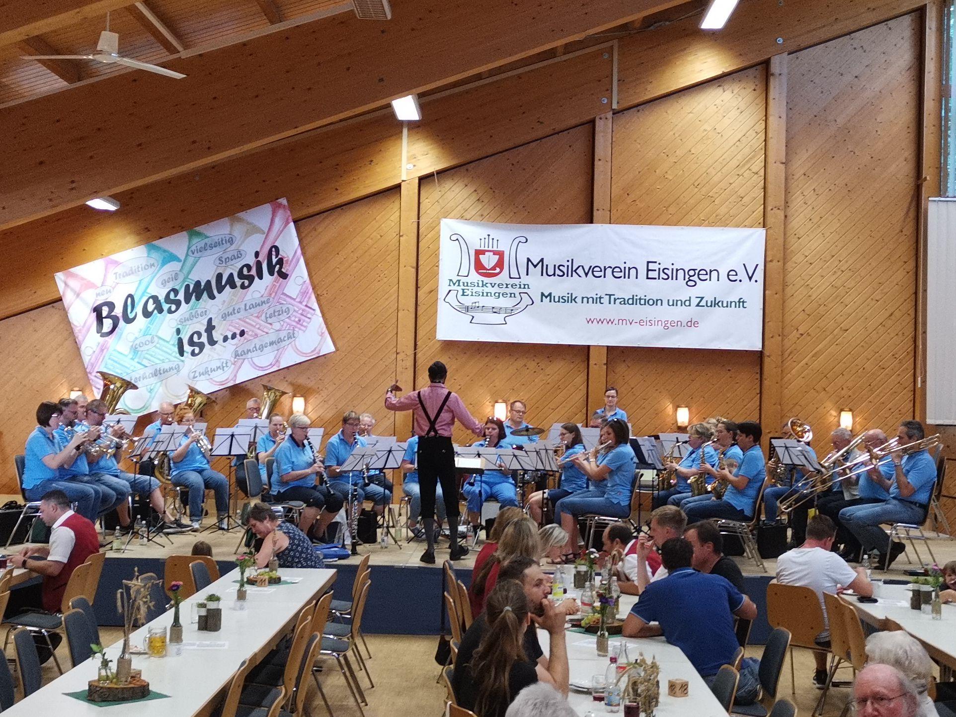 MV Harmonie Gondelsheim - Dirigent Dave Haß
